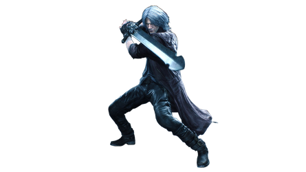 Devil May Cry 5 Dante Render PNG by GamingDeadTv