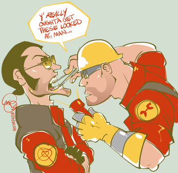 Team Fortress 2: Dental Plan by karniz