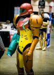 Candid (Samus Aran Cosplay - Anime Expo 2015) by d-slim