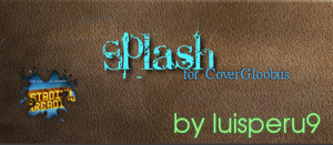 Splash for CoverGloobus WIP by luisperu9
