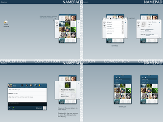 NAMEPAD by dreamxis