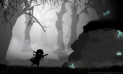 Project #GameDev: Forest of Spirits by Clarisse2DArt