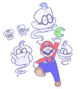 Cappy Cap by Mister-Saturn