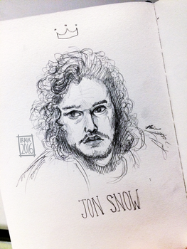 jon snow is not a king by Iraik