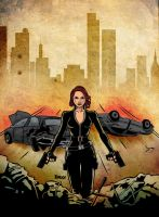 Black Widow - Aftermath by daxxbondoc