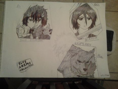 My Fave Anime Characters!!!! (so far) by SilverHeatDragon11