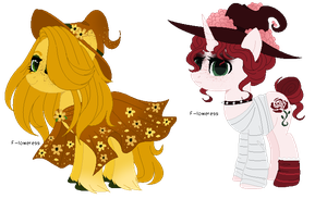 flower witches adopts  (closed) by FIoweress