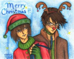 Come here Rudolph by mariapalitos68