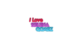 I love you Selena Gomez Png 2 by CanduletaEditions