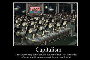 Capitalism demotivator by Party9999999