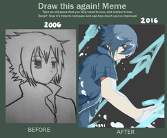 Draw This Again Meme: Noctis by n4391