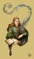 Elf from Rivendell by Tottor