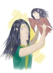 Bday - Feanor and Finwe by GovannonsArt