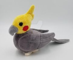 Cockatiel Plush Birb by Lunarchik13
