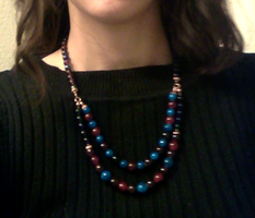 First Bead Necklace by glance-reviver