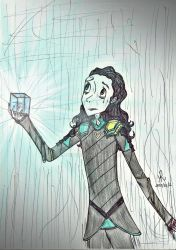 Loki and the Tesseract by queenfire
