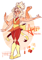 Agate - first drawin by MrsDrPepper