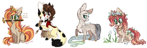Chibi Pack by D-Dyee