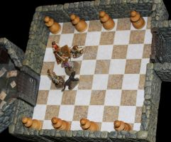 Chess puzzle in the Vivified Labyrinth by MrVergee
