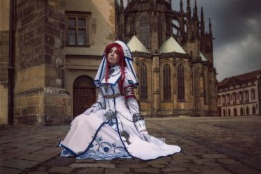 TRINITY BLOOD:No fear if you find a righteous path by MiraMarta