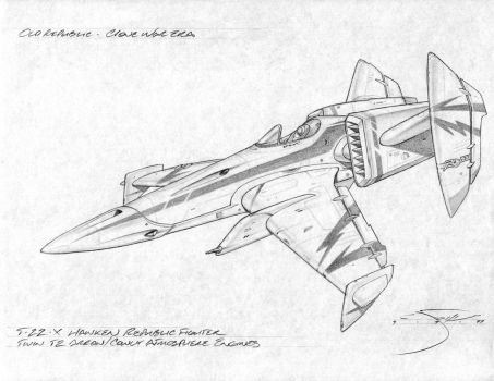 Rebel T-22X fighter by mavartworx