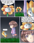 Undertale: STARS page 1 by ScruffyPoop