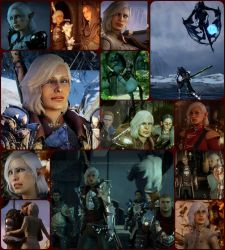 Inquisitor Daciana Lavellan Collage by wavejumper60