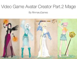 Video Game Avatar Creator V.2 by Rinmaru