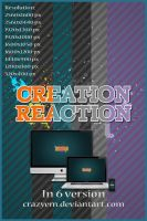 Creation Reaction by CrazyEM
