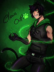 Plagg, Claws out! by TofusaurButt