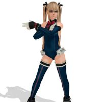 Marie Rose MMD by mmdspot