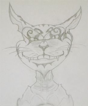 Cheshire Cat From Alice MR by killero94