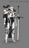 Sisters of Battle - Order of the Unsullied Hand by Skrumpgoblin