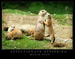 Affectionate Offspring by magikfoto