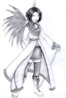 Gothic Angel by Zias