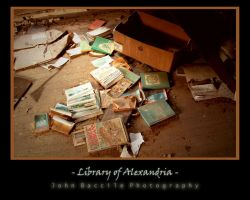 Library of Alexandria by barefootphotography