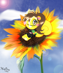 Beautiful like a sunflower :gift: by Martyna-Chan