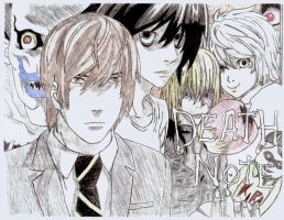 Death Note - Custom Poster (Drawing) by Piegoose