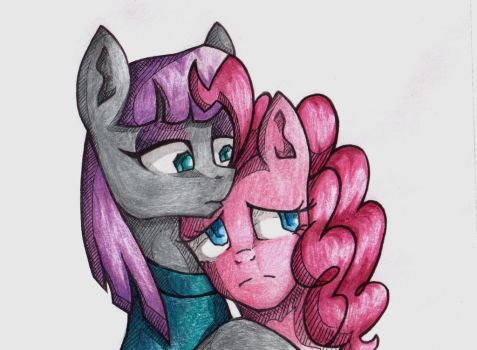 Maud and Pinkie by rosha-krieger