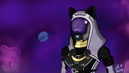 Halloween Tali by TheFettman13