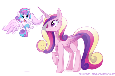 Mother and Daughter by TheNornOnTheGo