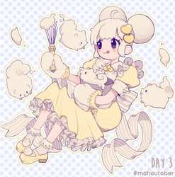 Day 3 | Lemon Honey Meringue by milkuriiem
