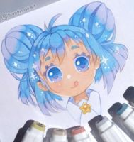 Markers test by BrandyRosa