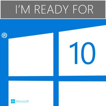 I'm ready for 10 - Windows 10 Compatible concept by metrovinz