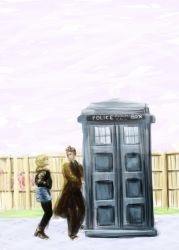 Rose And The Doctor by ellenmellenn