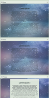Starry Custom CSS Boxes by PoetryOD
