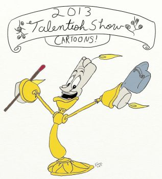 Talent Show Program Cover by DoodleGeek4Ever
