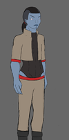 Che'ka (Old Blue) character design by Motion-Music