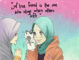 True Friend by Tiecka23