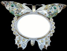 Butterfly Frame 1 by Penny-Stock